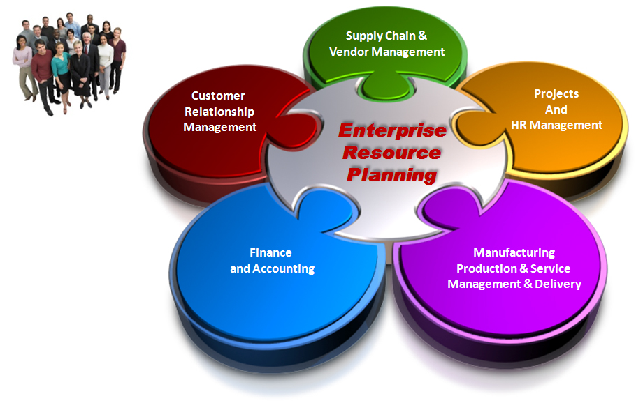 ... are characteristic of Enterprise Resource Planning Software